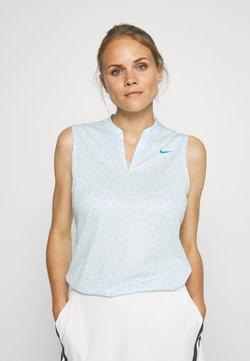Nike Golf - DRY VICTORY - Funktionsshirt - topaz mist/laser blue