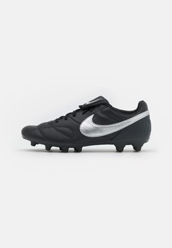 Nike Performance - PREMIER II FG - Moulded stud football boots - off noir/metallic silver/black