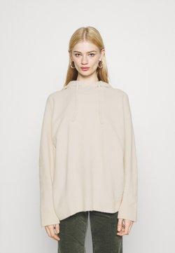 Monki - MARY HOODIE - Jersey con capucha - beige light