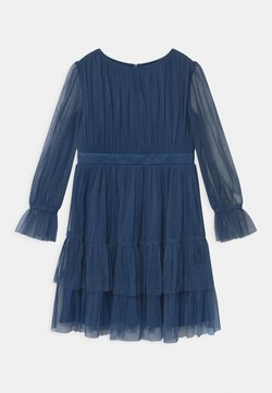 Anaya with love - BISHOP SLEEVE RUFFLE DETAIL - Sukienka koktajlowa - indigo blue