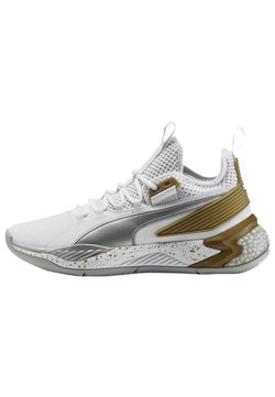 Puma - Basketballschuh - puma white-metallic silver