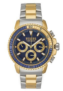 Versus Versace - ABERDEEN - Rannekello ajanottotoiminnolla - silver-coloured/gold-coloured