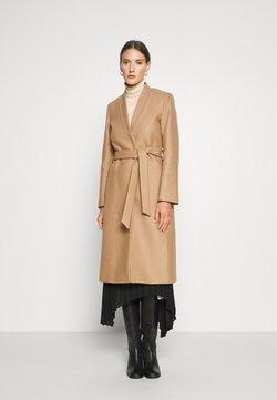 IVY & OAK - DOUBLE COLLAR COAT - Płaszcz wełniany /Płaszcz klasyczny - camel