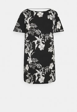 ONLY Carmakoma - CARLUXINA DRESS  - Vapaa-ajan mekko - black
