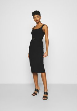 Forever New - OPEN NECK DRESS - Etui-jurk - black