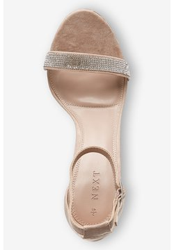 Next - BARELY THERE  - High Heel Sandalette - nude