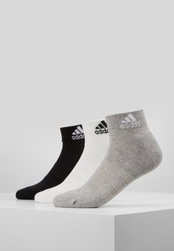 adidas Performance - CUSH ANK 3 PACK - Sportsocken - medium grey/white/black