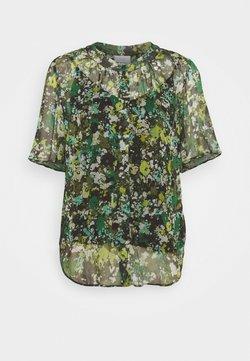 Marc O'Polo PURE - BLOUSE CRINKLE  - T-Shirt print - green