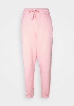 Missguided Petite - OVERSIZED JOGGER - Jogginghose - pink