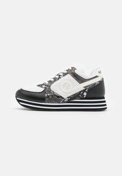 No Name - PARKO JOGGER - Sneakers laag - black/smoke