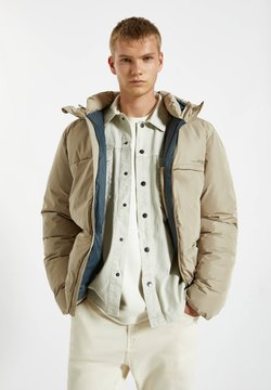 PULL&BEAR - Winterjacke - mottled beige