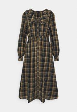 ONLY - ONLFIONA ABOVE CALF SHIRT DRESS - Sukienka koszulowa - chinchilla