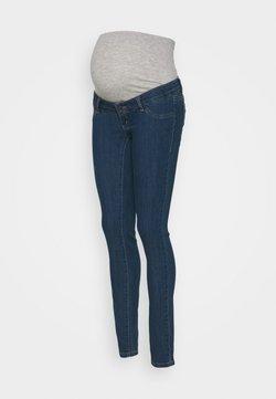 MAMALICIOUS - MLJULIA - Slim fit jeans - medium blue denim