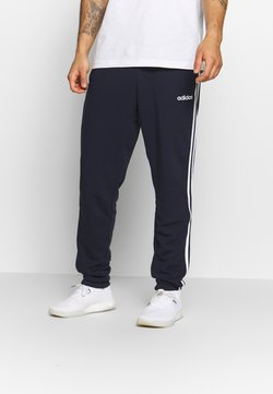 adidas Performance - ESSENTIALS 3STRIPES FRENCH TERRY SPORT PANTS - Jogginghose - navy