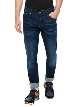 Q/S designed by - REGULAR FIT - Jeans Straight Leg - dark blue