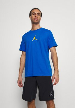 Jordan - JUMPMAN CREW - Camiseta estampada - signal blue/university gold