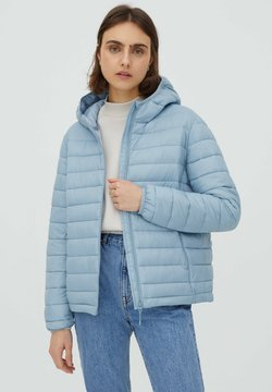 PULL&BEAR - Winterjacke - mottled light blue