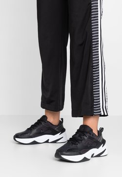 Nike Sportswear - M2K TEKNO - Sneaker low - black/oil grey/white