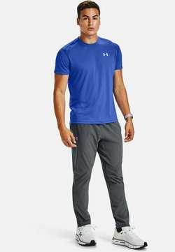 Under Armour - STREAKER SHORTSLEEVE - Camiseta de deporte - emotion blue