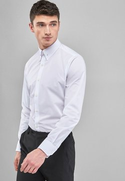 Next - WHITE COLLAR PIN EASY CARE SLIM FIT SHIRT - Businesshemd - white