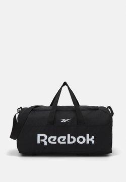 Reebok - ACT CORE GRIP UNISEX - Sports bag - black/black