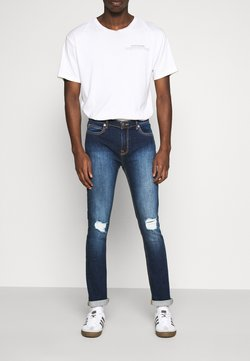 Another Influence - XYLA - Vaqueros slim fit - blue