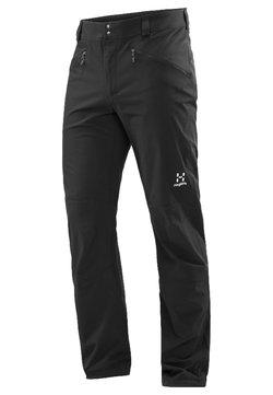Haglöfs - MORÄN - Pantalones montañeros largos - true black