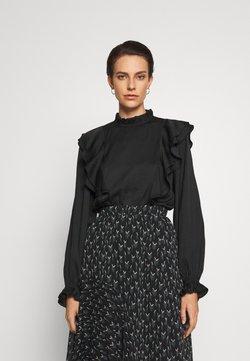 Bruuns Bazaar - PRICKLY SUZETTE BLOUSE - Bluse - black