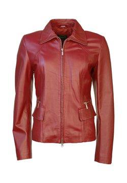 JCC - Leren jas - red