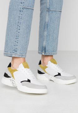 Marco Tozzi - LACE UP - Trainers - white/lime