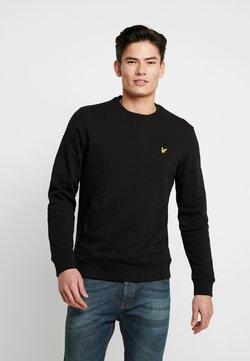 Lyle & Scott - CREW NECK - Sweater - jet black