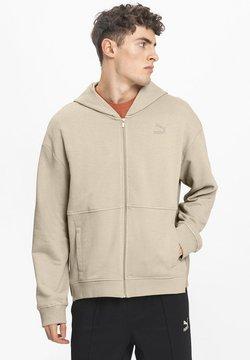 Puma - Sweatjacke - pale khaki