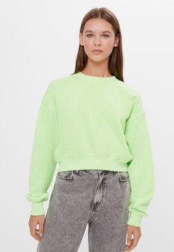 Bershka - Sweatshirt - green