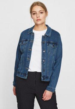 Vero Moda Curve - VMHOT SOYA JACKET - Veste en jean - blue denim