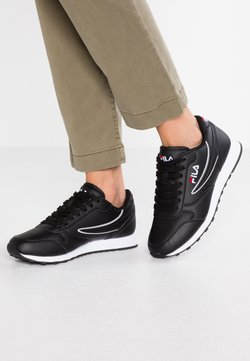 Fila - ORBIT - Matalavartiset tennarit - black