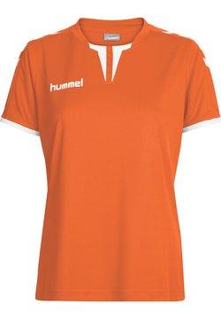 Hummel - CORE SS - T-Shirt print - tangerine pr