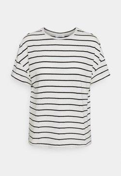 Opus - SILEIKA - T-Shirt print - white/black