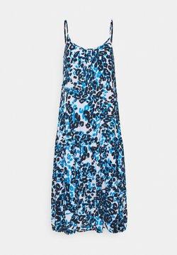 Marks & Spencer London - SLIP DRESS - Freizeitkleid - blue