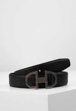 ALDO - GORLENKO - Belt - black/gunmetal
