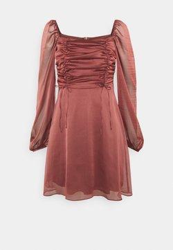 Trendyol - GÜL KURUSU - Cocktailkleid/festliches Kleid - rose