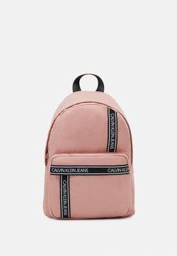 Calvin Klein Jeans - INSTITUTIONAL LOGO BACKPACK - Reppu - pink