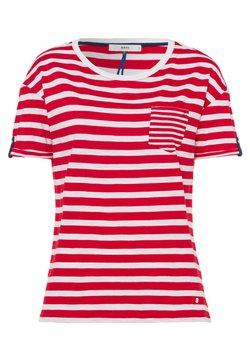 BRAX - STYLE CAMILLE - T-Shirt print - paradise red