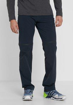 Mammut - RUNBOLD ZIP OFF - Pantalones montañeros largos - black