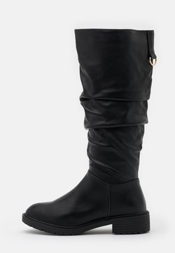 New Look Wide Fit - WIDE FIT CLOUD SLOUCH KNEE HIGH  - Boots - black