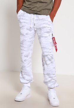 Alpha Industries - FIT PANT - Jogginghose - white