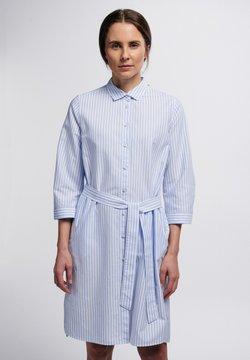 Eterna - Blusenkleid - hellblau/weiß
