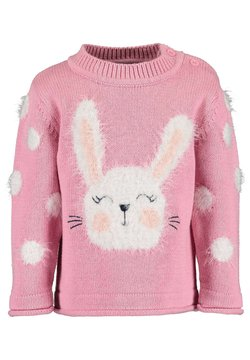 Blue Seven - BUNNY AND FRIENDS - Strickpullover - MAUVE