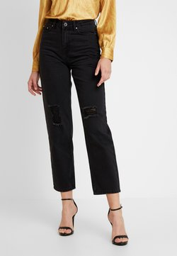 Lost Ink - RIP - Relaxed fit jeans - washed black
