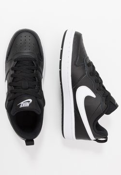 Nike Sportswear - COURT BOROUGH UNISEX - Baskets basses - black/white
