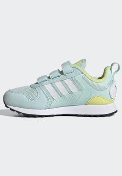 adidas Originals - ZX 700 HD CF C ORIGINALS SNEAKERS SHOES - Sneaker low - halo mint/ftwr white/pulse yellow